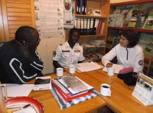 Athman og Sigrid intervjuer Bosco