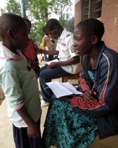 Noen av barna i hver klasse ble intervjuet