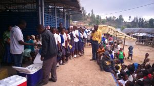 World school milk day in Mgeta