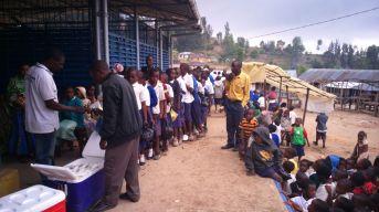World school milk day in Mgeta