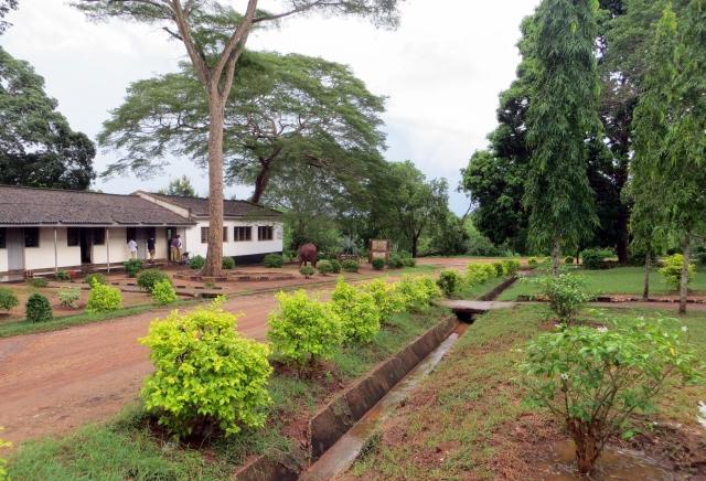Kibaha school grounds
