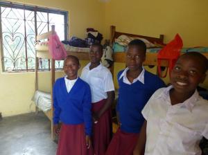 Fornøyde jenter etter Morogorotur