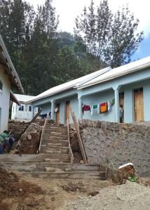 Trapp fra hovedhus til soveromsfløy