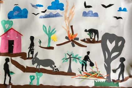 Applikasjonene elevene laget i Hilde Henriksens undervisningsprosjekt på Kikeo ungdomsskole i februar 2018 ble brukt som utgangspunkt for illustrasjonene i den flotte boka Hilde har laget med tekst på swahili og engelsk. Boka brukes nå i undervisningen på ungdomsskolen.