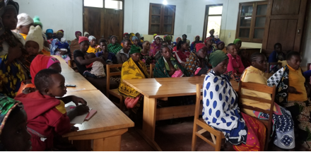 Women meeting conducted at mgeta centre for farmers and agriculture at 17th December 2019