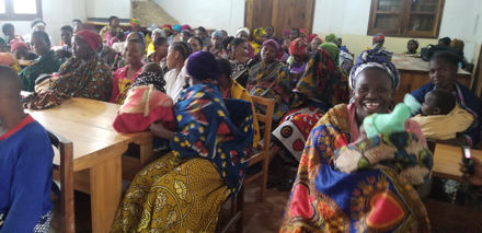 Women meeting conducted at mgeta centre for farmers and agriculture at 17th December 2019-2