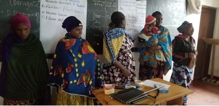 Women meeting conducted at mgeta centre for farmers and agriculture at 17th December 2019-3